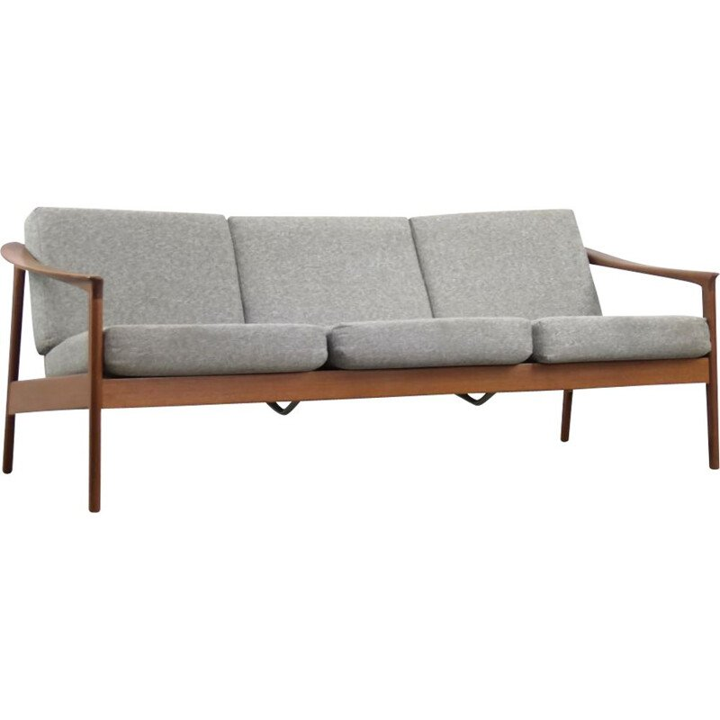 Mid-Century Modern Teak Colorado Sofa by Folke Ohlsson for Bodafors Swedish 1960s