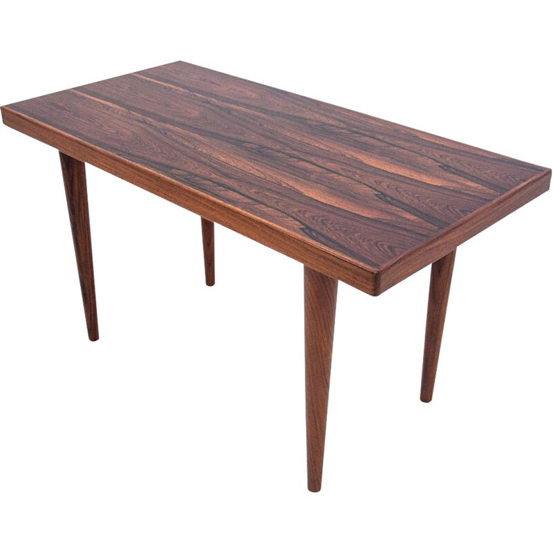 Vintage Rosewood Coffee table Scandinavia 1970s