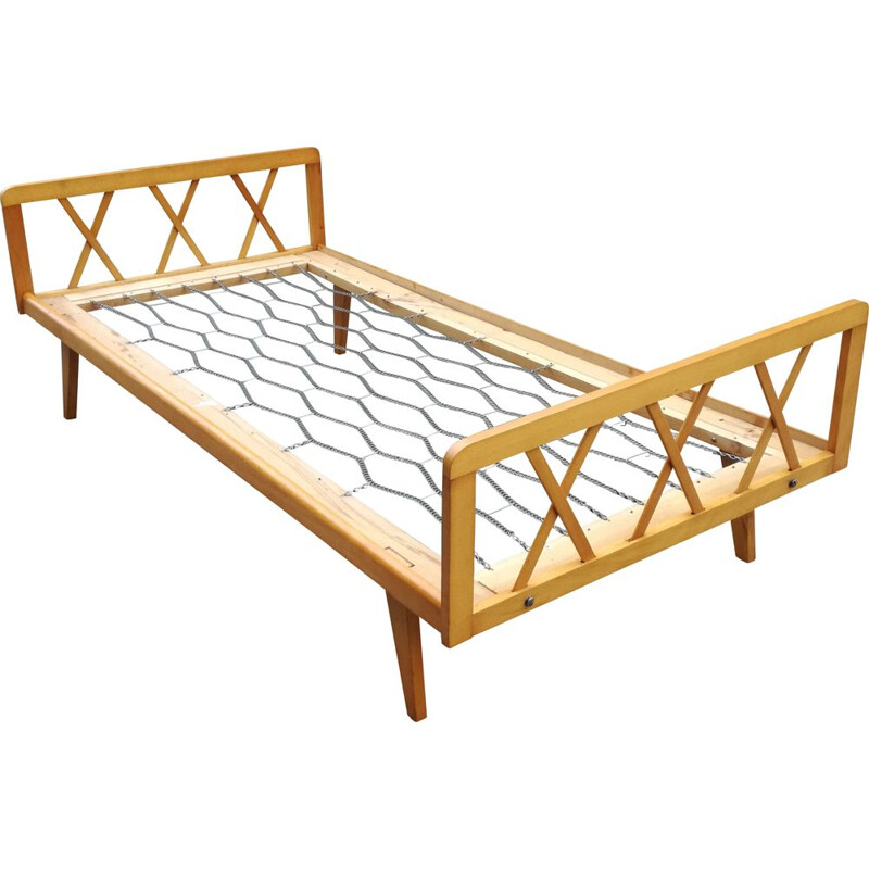 Vintage resting bed French 1950s