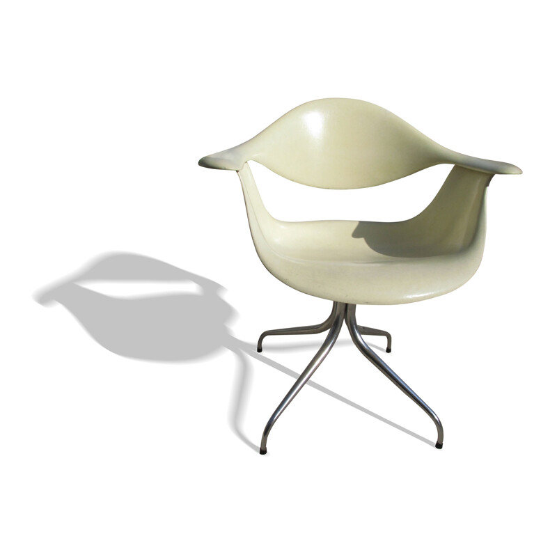 Herman Miller DAF chair in fiber glass, George NELSON - 1950s