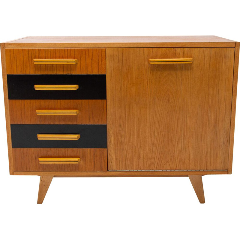 Mid century chest of drawers Czechoslovakia 1960s
