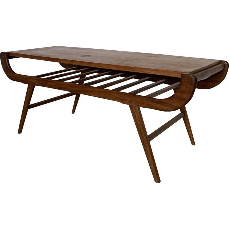 Vintage Louis Van Teeffelen Coffee Table 1960s