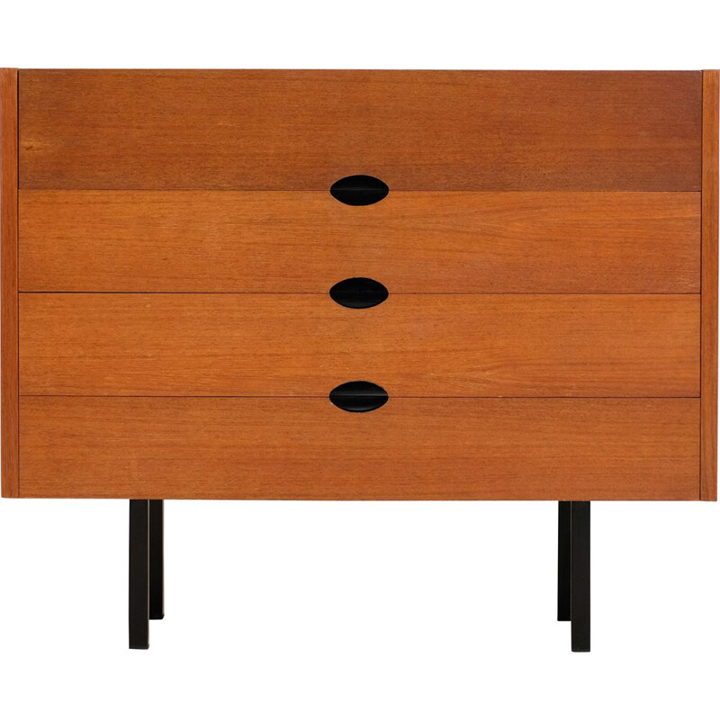 Vintage teak dressing table by J.A. Motte 1960s