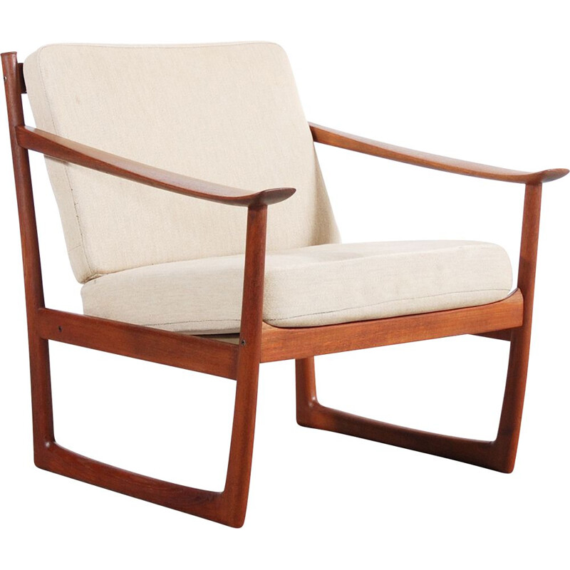 Vintage armchair by Peter Hvidt & Orla Molgaard-Nielsen for France & Son 1960