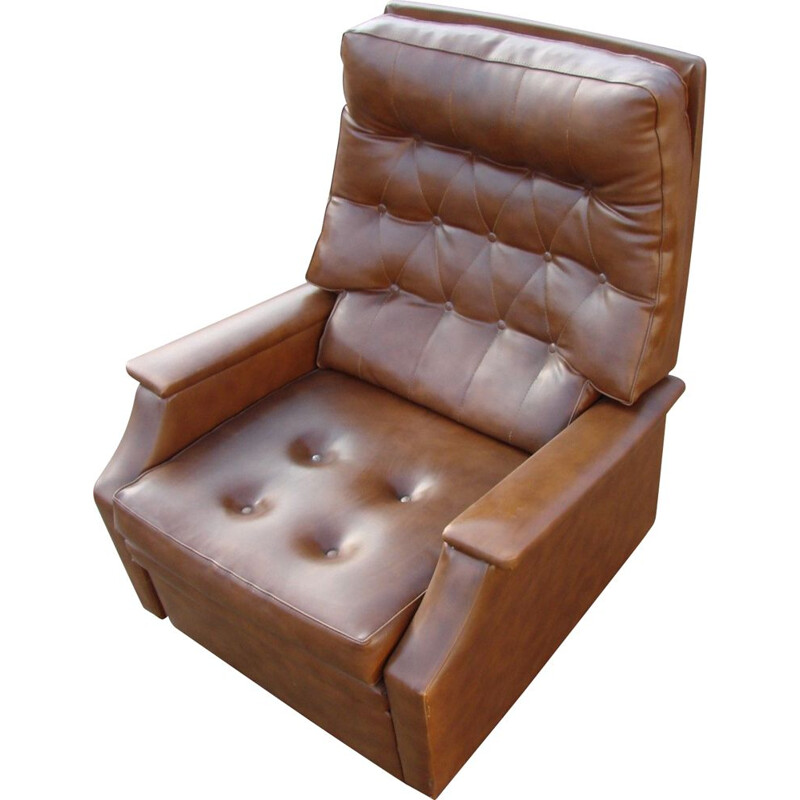Vintage Pull-out armchair 1970s