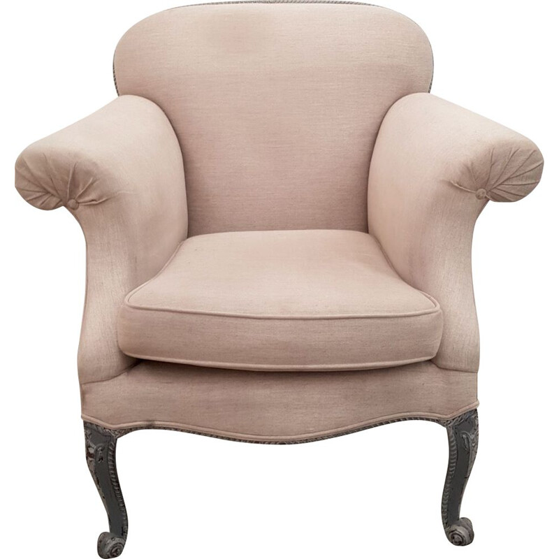 Vintage Queen Anne armchair