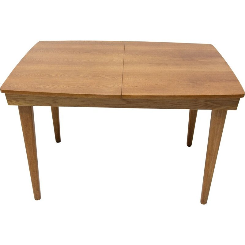Vintage adjustable Dining Table by UP Závody Czechoslovakia 1960s