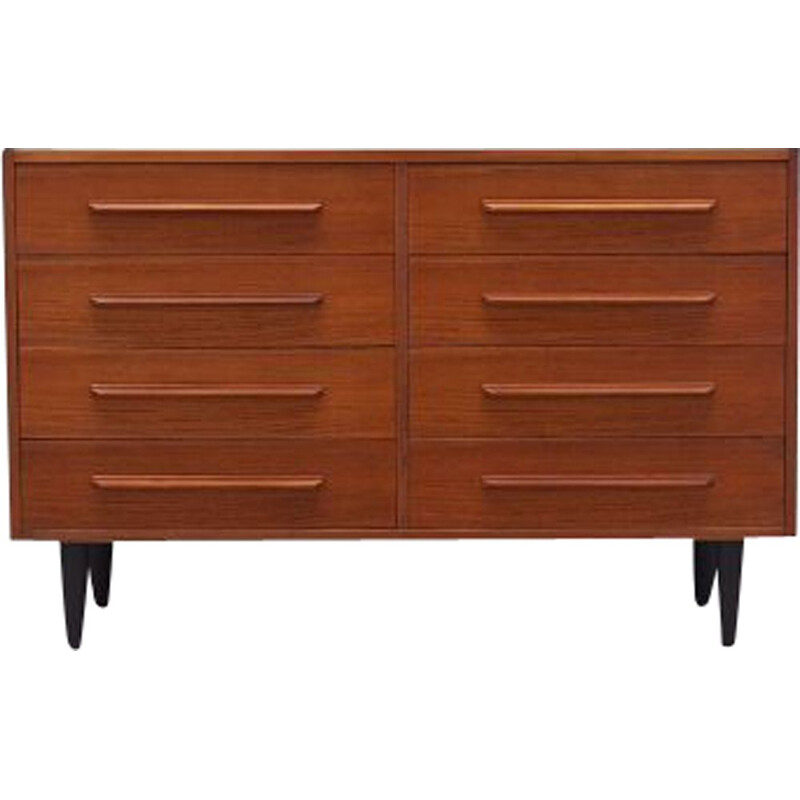 Vintage Teak chest of drawers Denmark 1970s