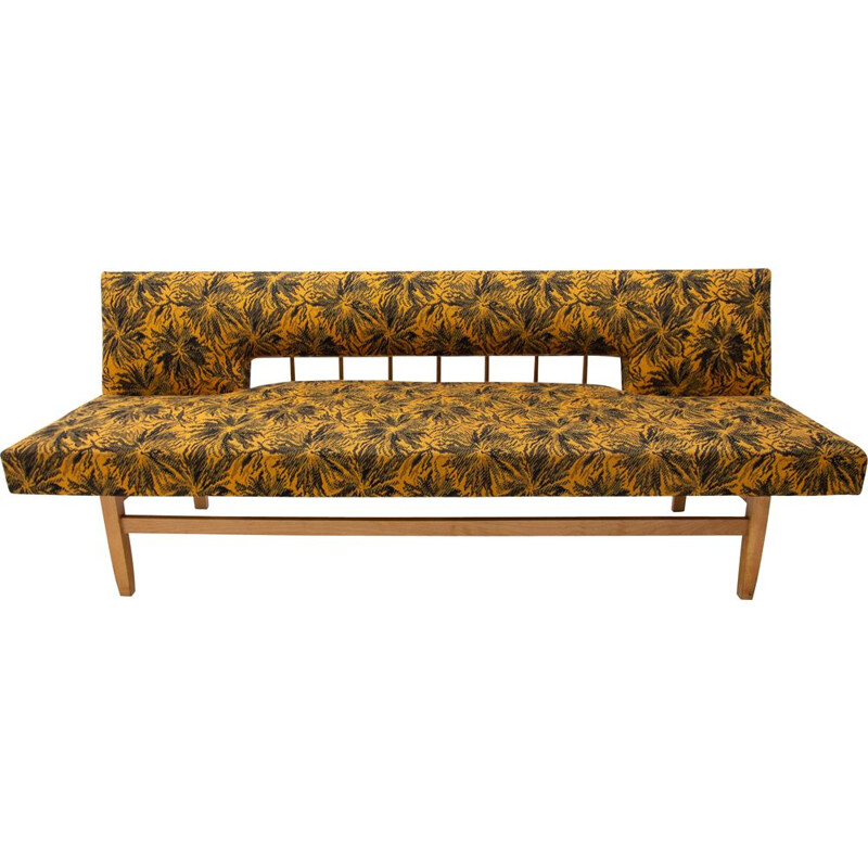 Vintage Adjustable Sofa Bench by Miroslav Navrátil Czechoslovakia 1960s