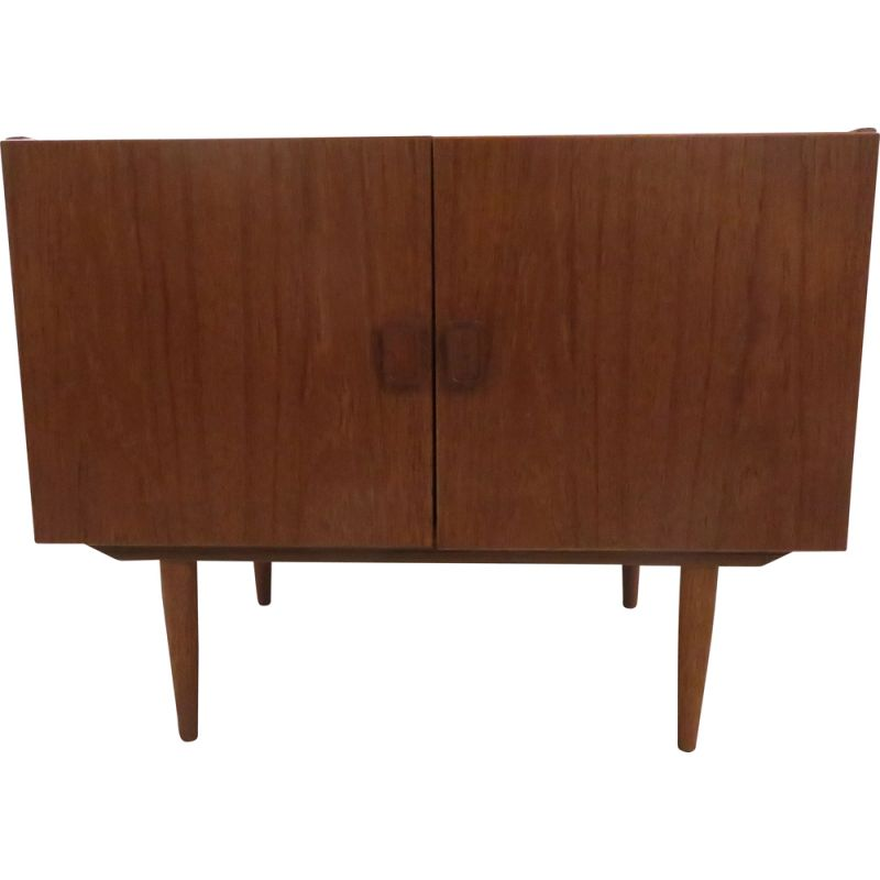Vintage teak highboard scandinavian 1960s