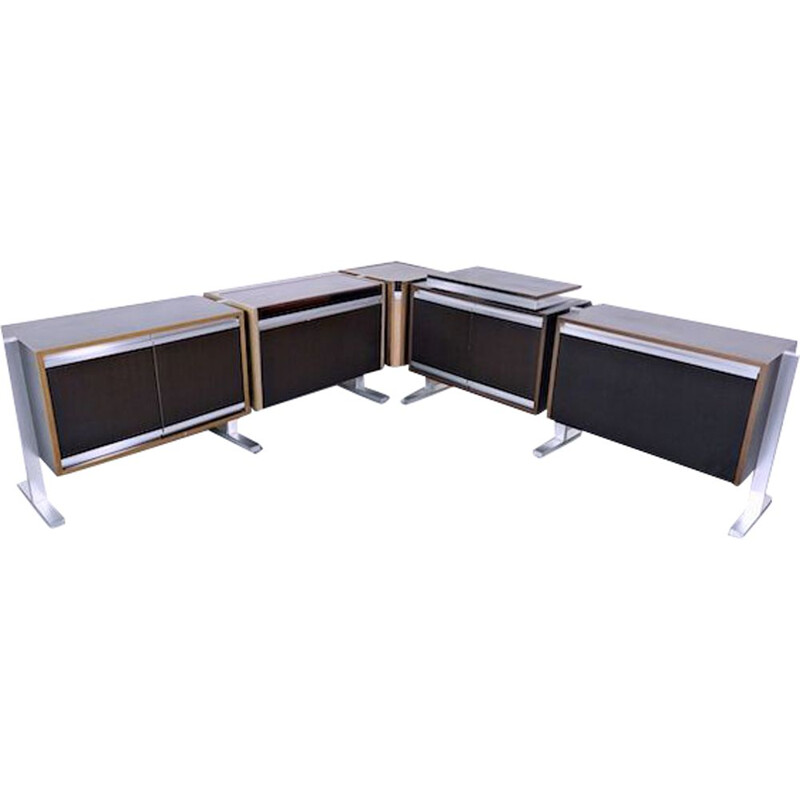 Set of Modular Sideboards 1970s