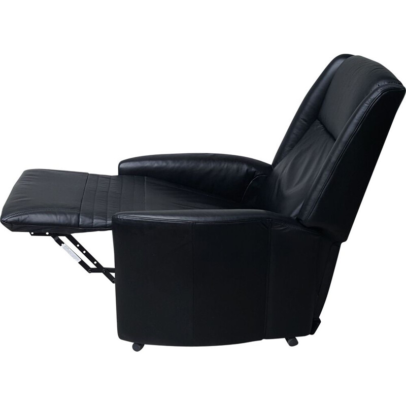 Vintage Leather Armchair with Relax Function from Himolla