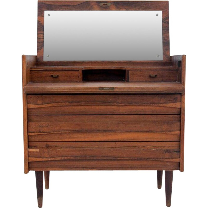 Vintage Rosewood Dressing Table Denmark 1960s