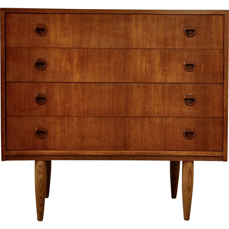 Vintage chest of drawers with 4 drawers 1970