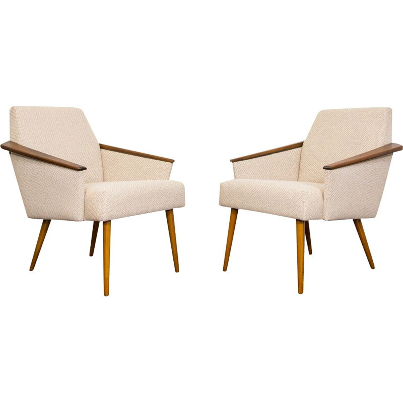 Pair Of Mid Century Armchairs 1970