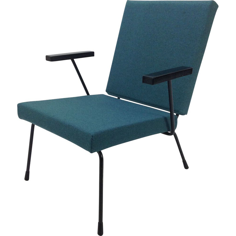 Vintage lounge armchair by Wim Rietveld for Gispen 1950