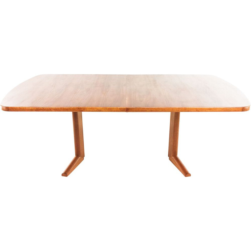 Vintage teak dining table by Martin Hall for Gordon Russell 1970