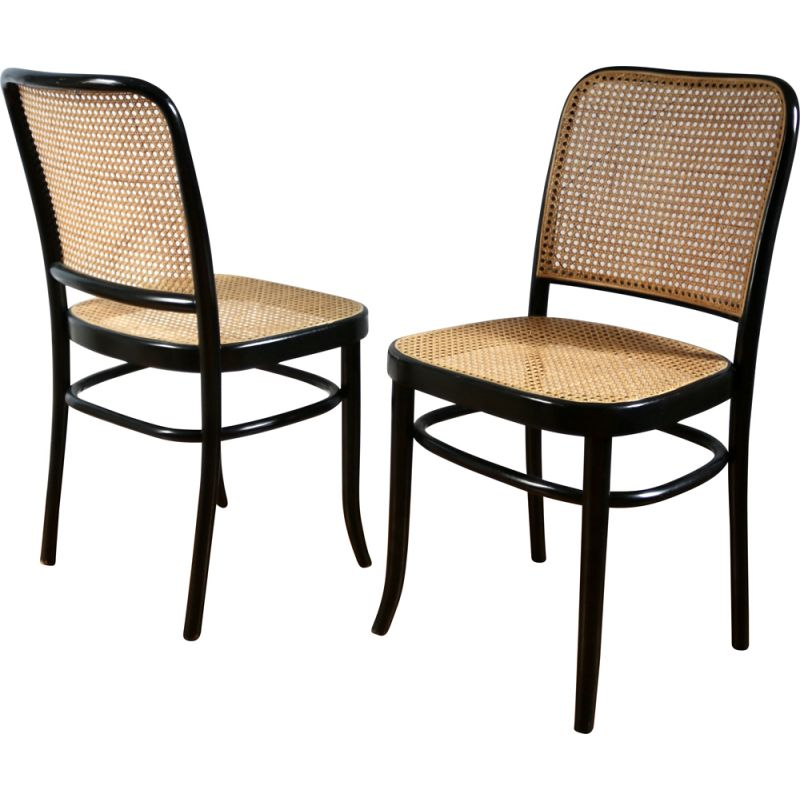 Pair of vintage chairs by Joseph Hoffmann