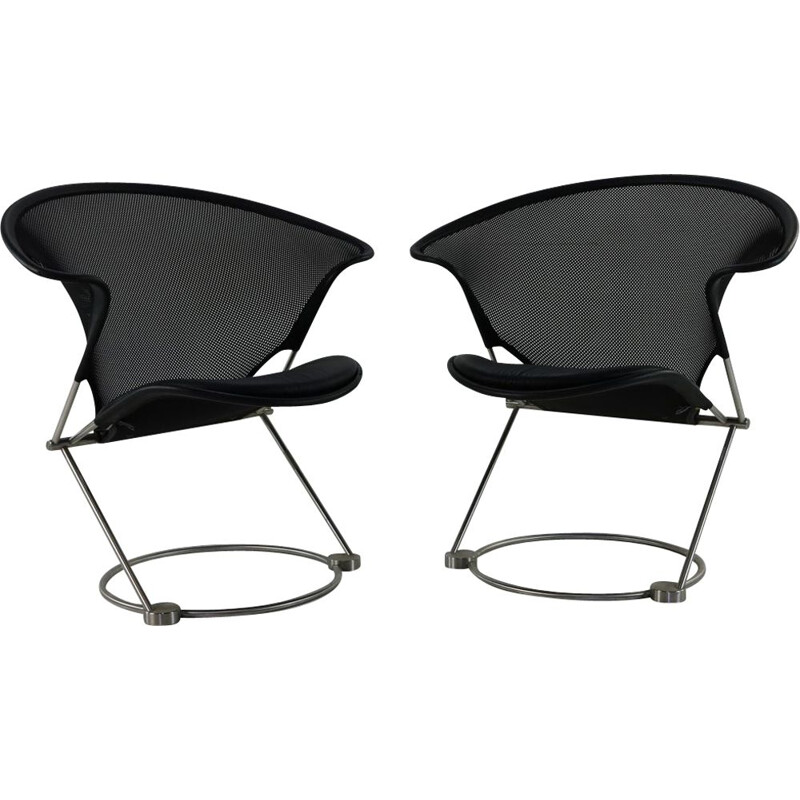 Pair of vintage easy chairs for Wilkhahn