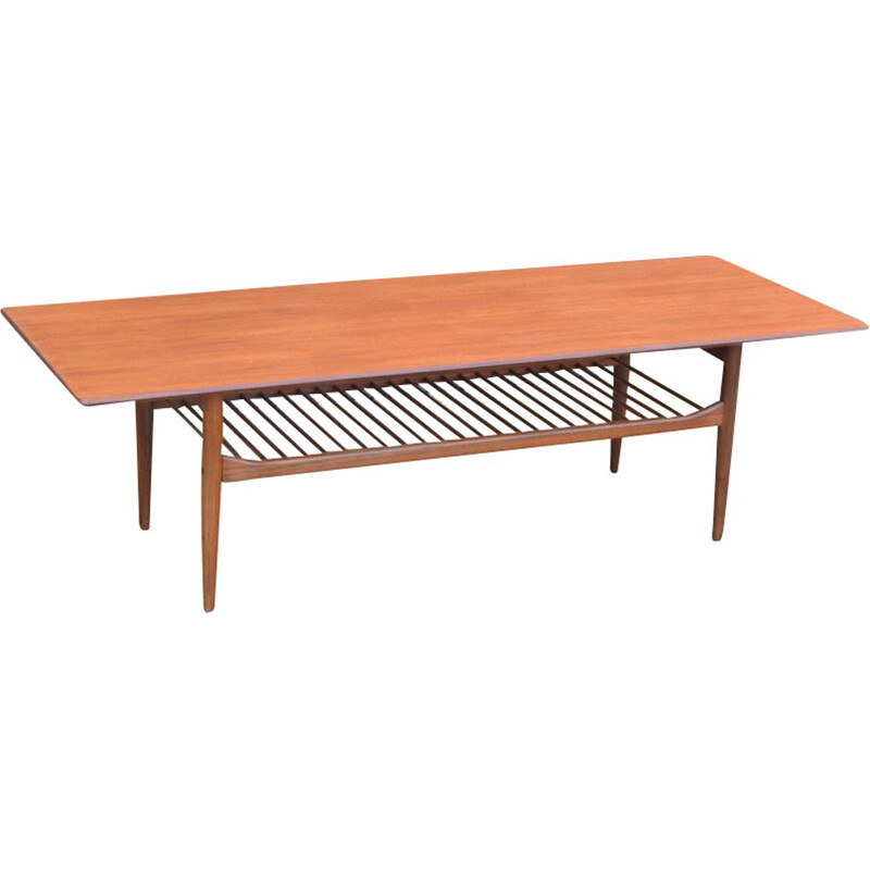 Large vintage coffee table by Kofod Larsen