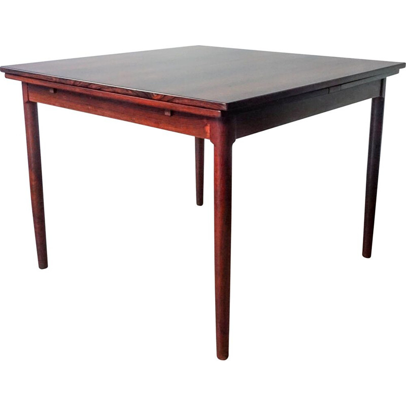Vintage Extendable Rosewood Dinning Table 1960s