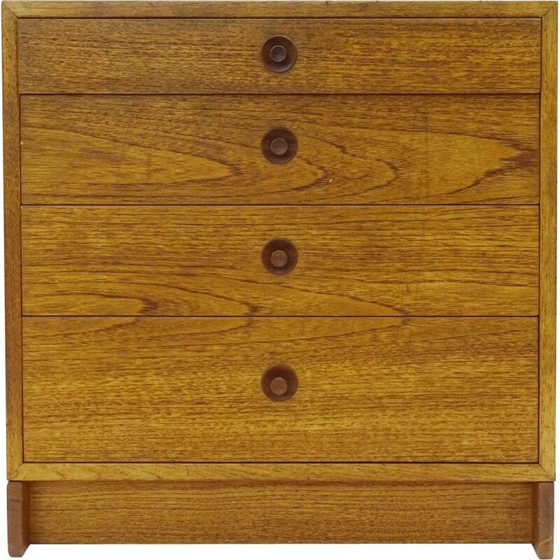 Vintage Chest Of Drawers In Oak By Borge Mogensen For Karl Anderson 1960