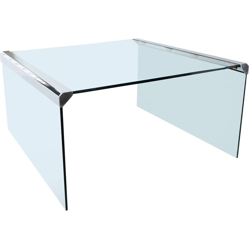 Vintage Coffee Table by Pierangelo Gallotti for Gallotti & Radice Italian 1980s