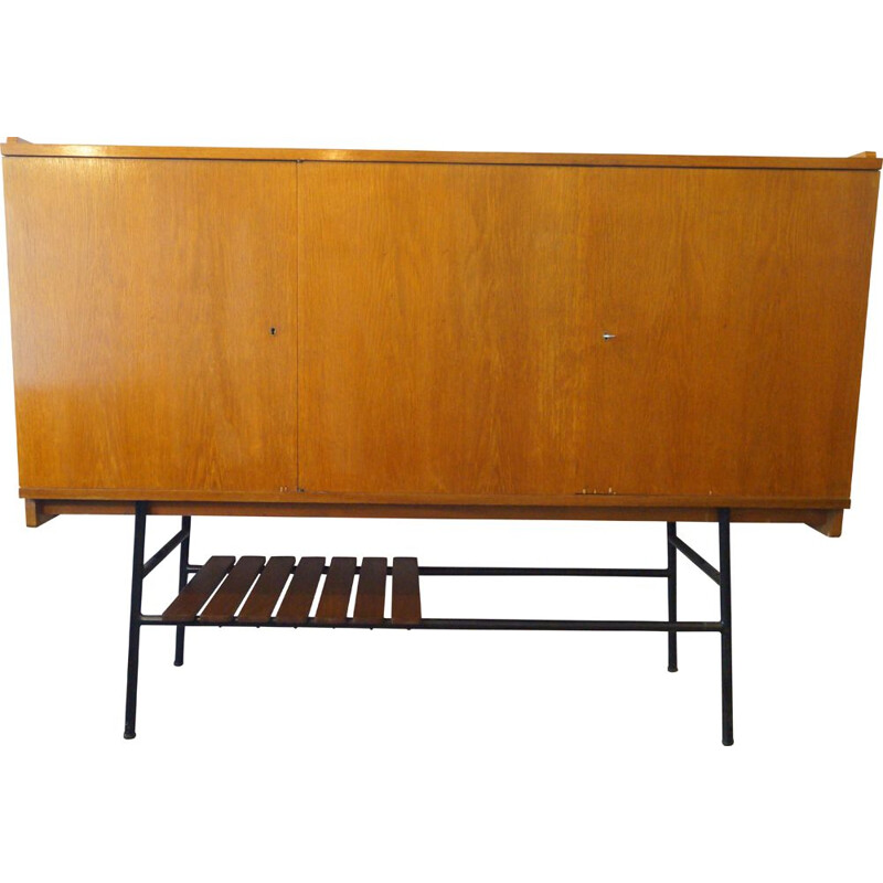 Vintage highboard by Jean René Caillette for the Charron 1950