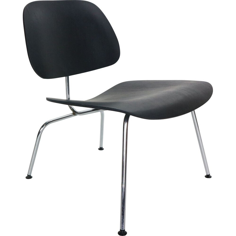 Vintage Early Production Ray & Charles Eames for Herman Miller chair Black 1950s