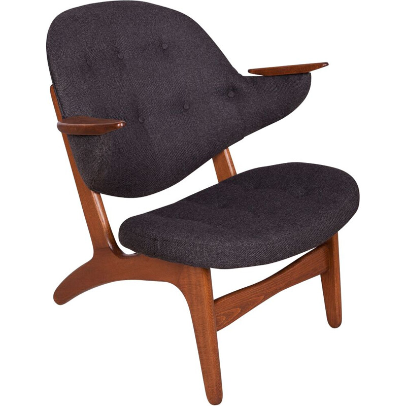 Vintage Model 33 Armchair by Carl Edward Matthes, 1950s