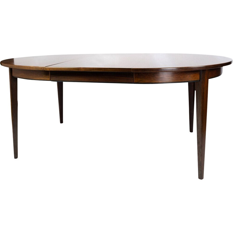 Vintage Dining table in rosewood by Omann Junior 1960s