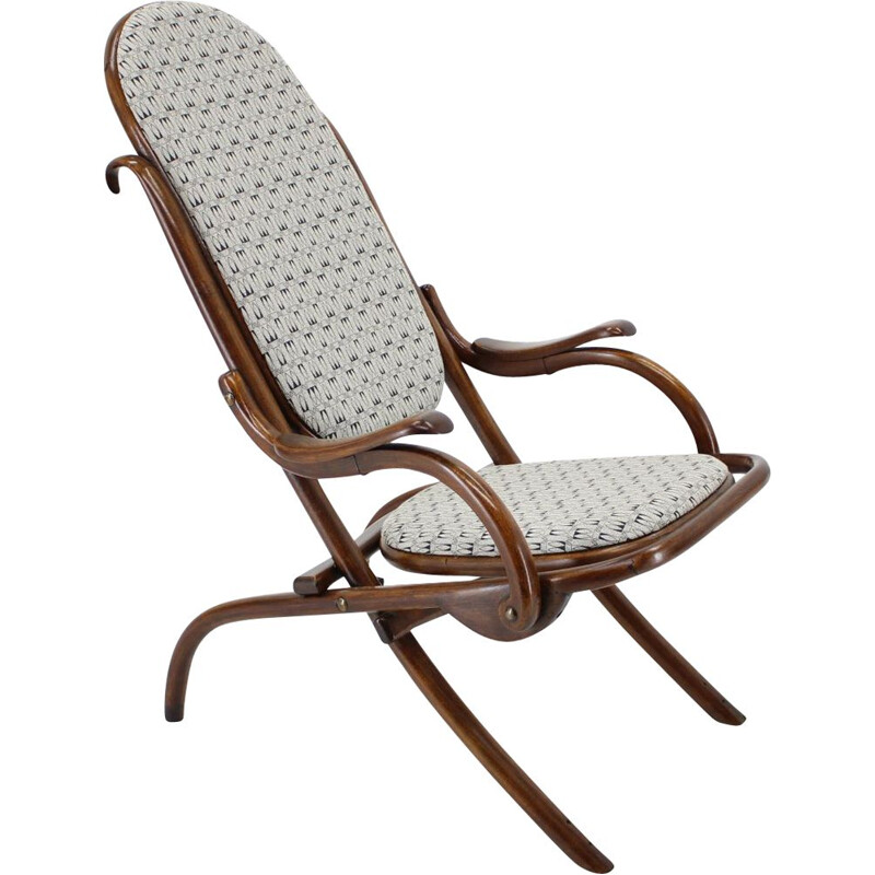 Vintage folding chair by Gebrüder Thonet 1867