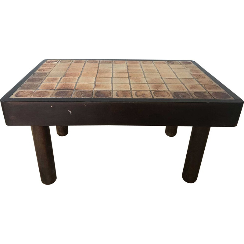 Vintage Roger Capron coffee table for Vallauris 1960s