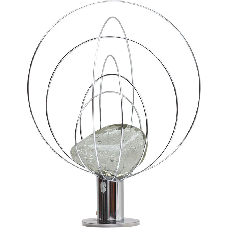 Vintage Barnaba table lamp by Angelo Brotto for Esperia 1960s
