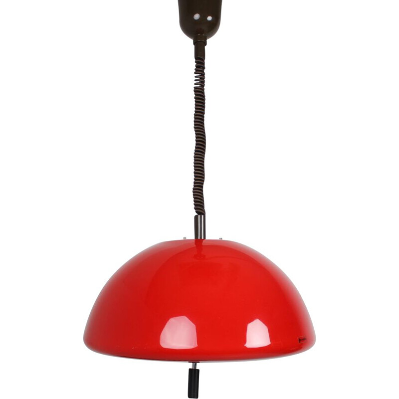 Vintage pendant lamp Meblo by Harvey Guzzini 1970