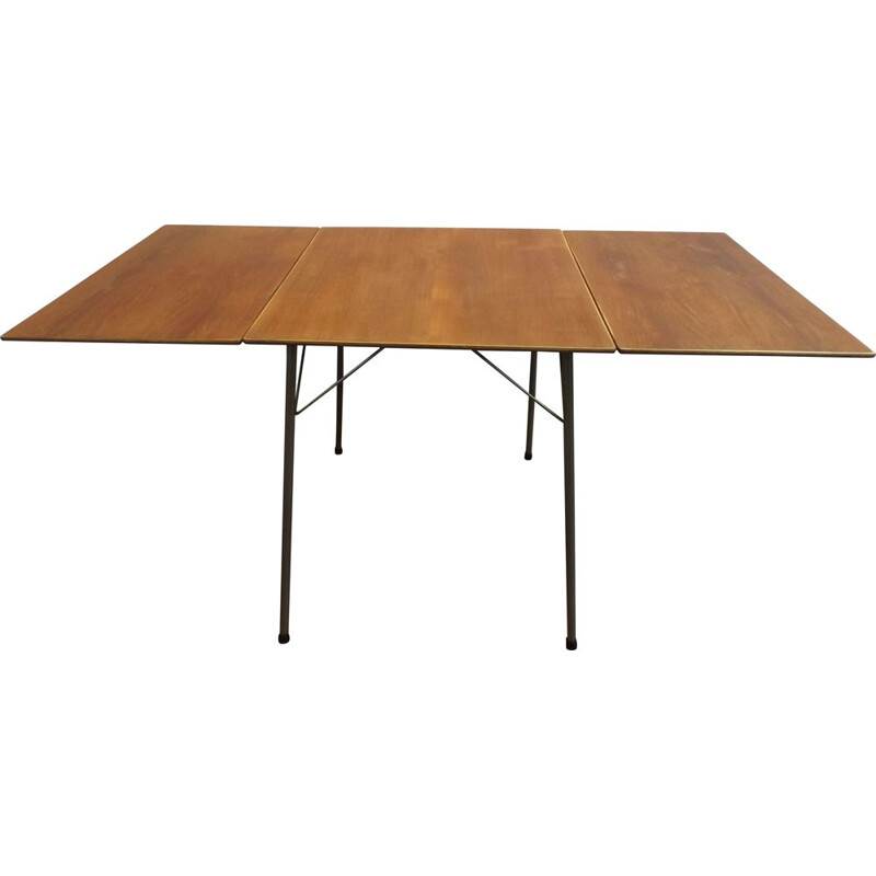 Vintage folding table by Arne Jacobsen for Fritz Hansen 1960