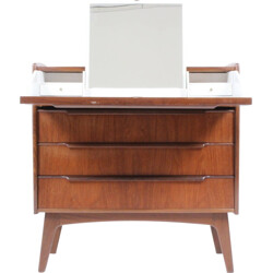 Mid-century dressing table in teak - 1960s