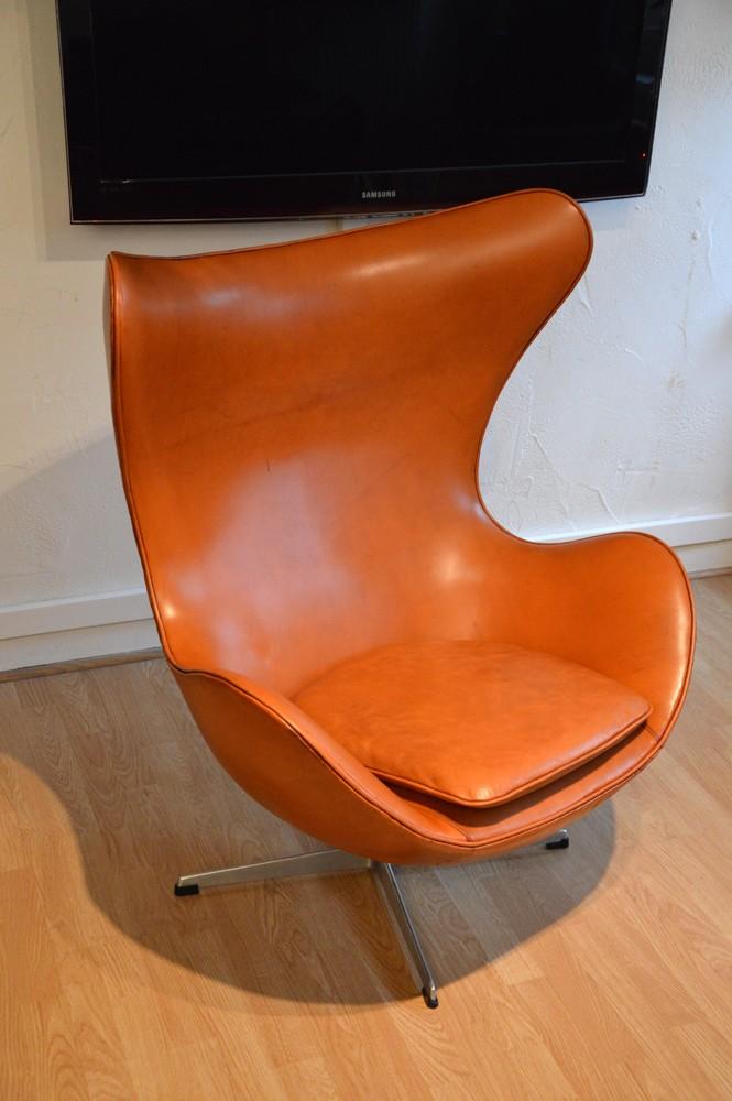 """Armchair """"EGG"""", Arne JACOBSEN - 1960s - Design Market"""