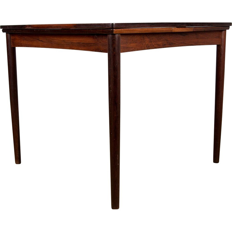 Vintage Rio rosewood table for meals or games by Poul Hundevad, Danish 1958s