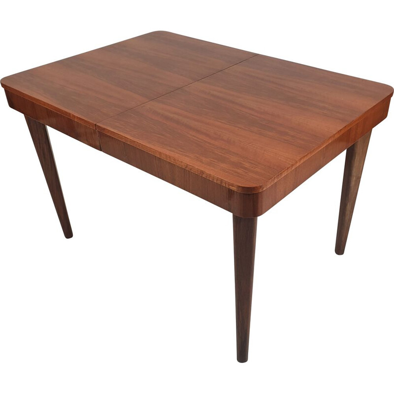 Vintage Dining Table by Jindřich Halabala for UP Závody, Czechoslovakia 1950s