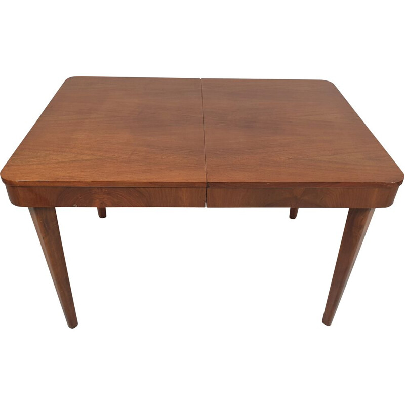 Vintage dining table by Jindřich Halabala for UP Závody, Czechoslovakia 1950