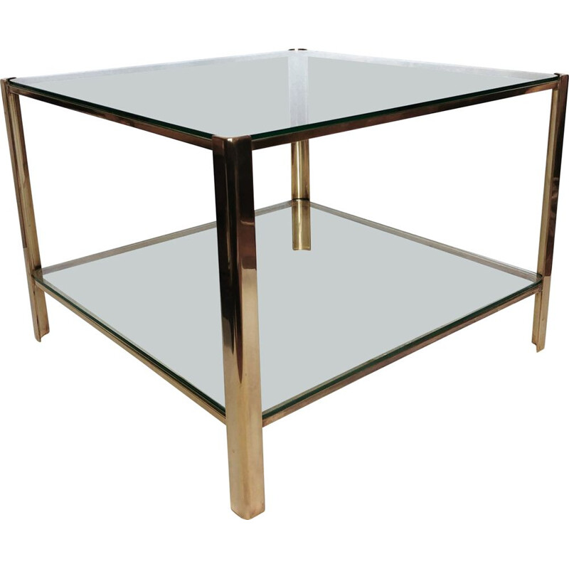 Vintage Bronze Side Table by Jacques Quinet for the Maison Malabert 1960s