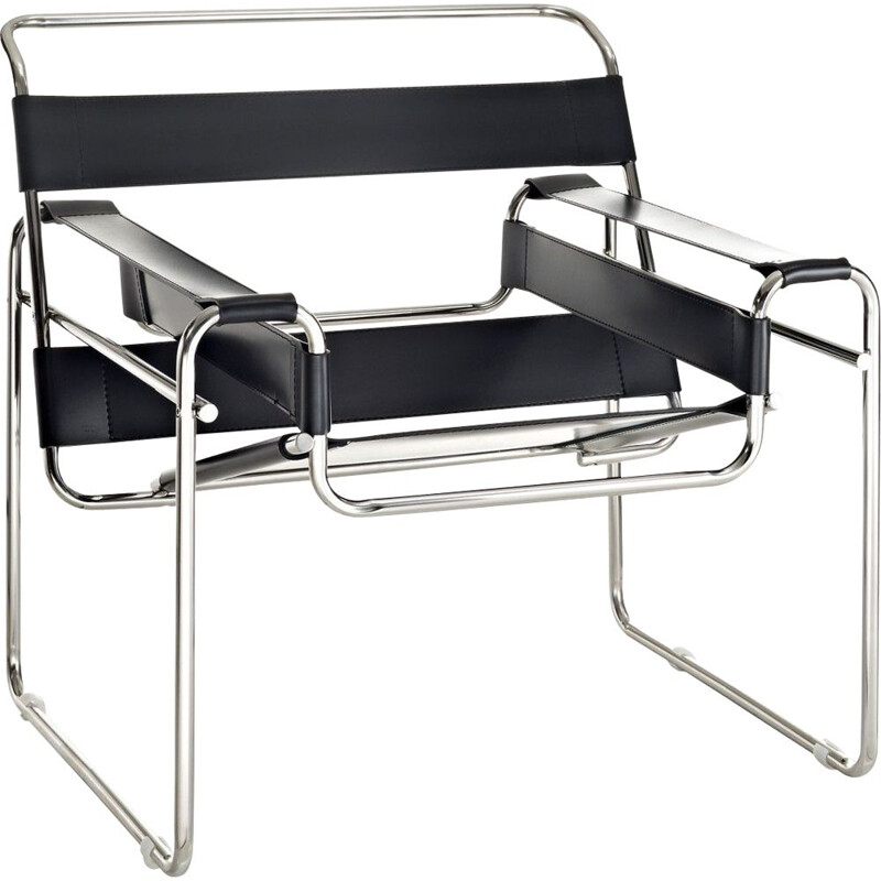 Vintage armchair Wassily by Marcel Breuer