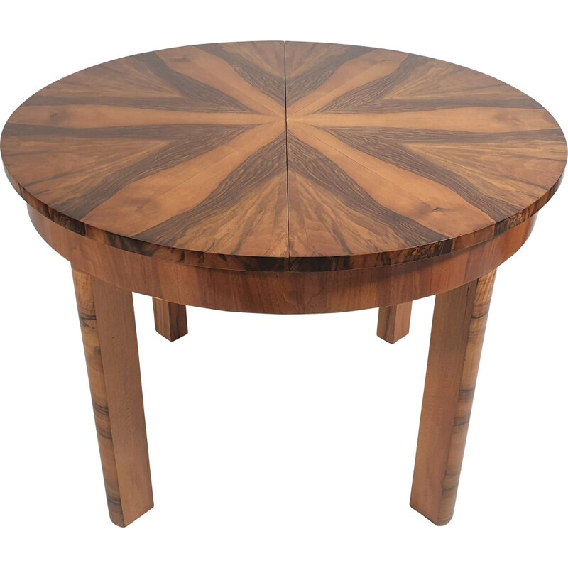 Vintage Art Deco Dining Table 1950s