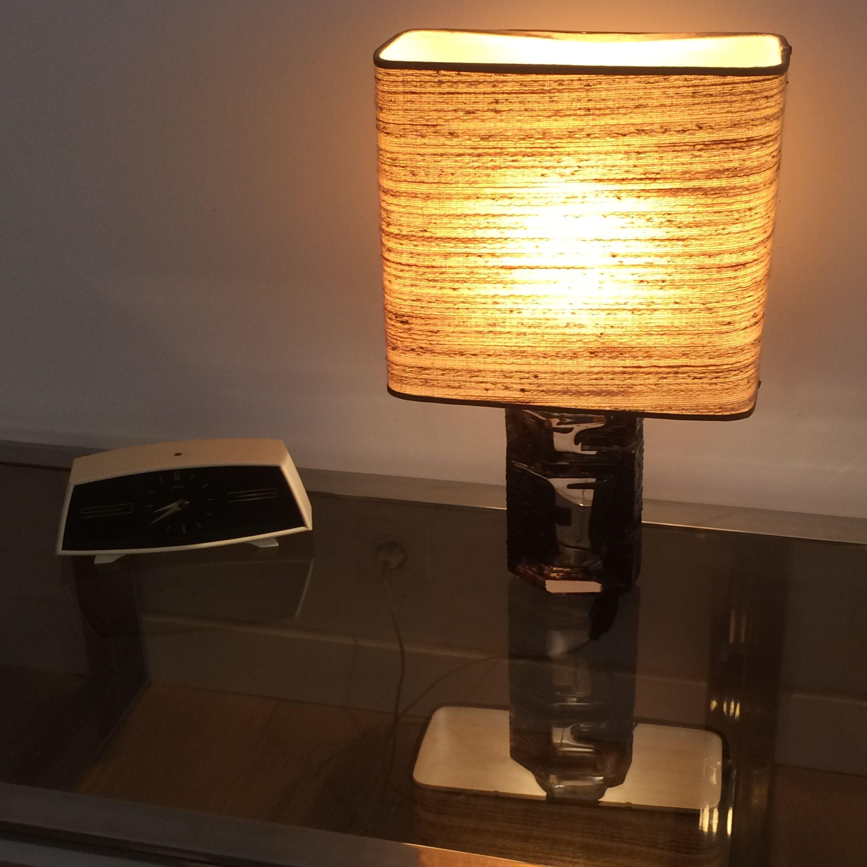 Vintage Brutalist Lamp Argos By Cesar Baldaccini For Daum 1960s Design Market