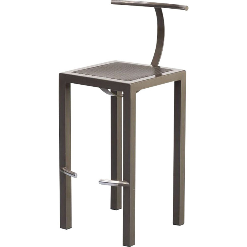"Vintage Philippe Starck ""sarapis"" Bar Stool for Driade 1980s"