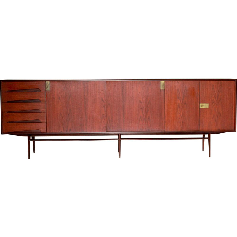 Vintage Sideboard Designed by Edmondo Palutari for Vittori Dassi 1950s
