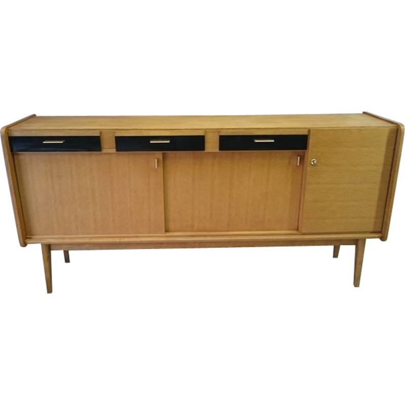 Mid Century Sideboard In Light Oak Maurice Pre 1950s Design Market