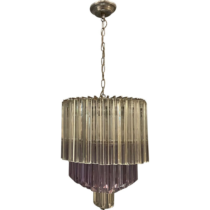 Large vintage Murano Glass Chandelier