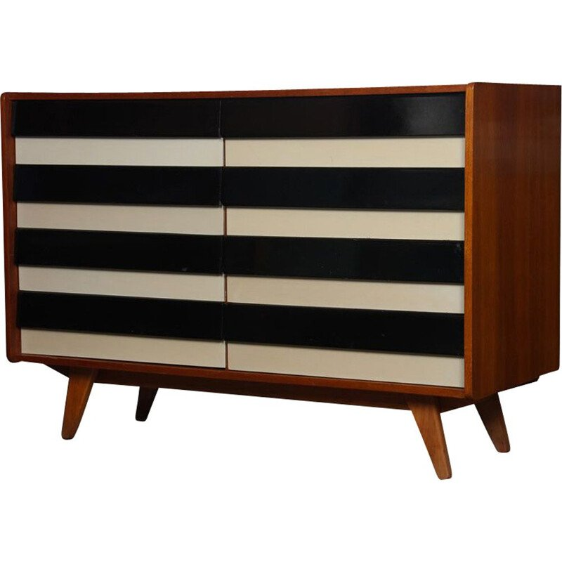 Vintage chest of drawers by Jiri Jiroutek U-453, Czech Republic 1960s
